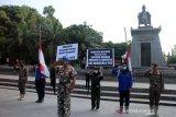 Doa dan penghormatan terakhir bagi prajurit KRI Nanggala-402 dari warga Solo