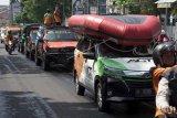 Konvoi memperingati Hari Kesiapsiagaan Bencana