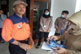 BPBD Kabupaten Magelang bagikan masker kepada masyarakat