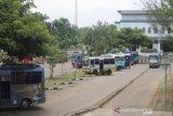 Penumpang di Terminal Dhagsinarga Gunung Kidul masih stabil