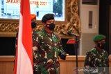 Panglima TNI menerima laporan kenaikan pangkat 34 Pati TNI