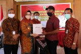 Bank Jateng serahkan uang duka Pemkab Sukoharjo total Rp2 miliar
