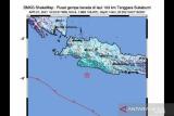 Gempa tektonik magnitudo 5,6 di Jabar akibat aktivitas subduksi
