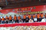 Polri mengungkap kasus 2,5 ton narkotika jenis sabu-sabu