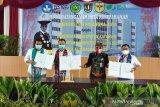 Lindungi mahasiswa saat KKN, BPJAMSOSTEK dan UPR jalin kerjasama