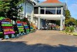 Karangan bunga penuhi Lantamal VI Makassar