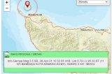 BMKG: Gempa bumi di Sabang disebabkan aktifitas  sesar aktif