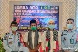 Andri Satria Elfino dan Muhammad Okta Verdian, WBP binaan Rutan II B Maninjau ikuti MTQ di Padang Panjang