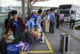 1.000 bus mangkrak di Medan  akibat larangan mudik