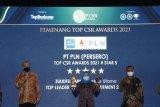 PLN Group raih sembilan penghargaan TOP CSR Awards