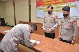 Bidang Humas Polda Lampung tandatangani pakta integritas bebas korupsi