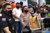 Satnarkoba Polresta Bogor Kota bongkar produksi narkoba sintetis