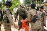 Satpol PP Palembang jaring puluhan pengemis dan anak jalanan