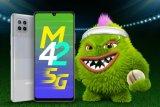 Samsung Galaxy M42 5G dibekali Snapdragon 750G dan baterai 5.000 mAh