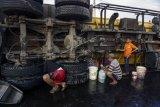Kecelakaan truk tangki minyak