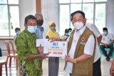 Bupati Mesuji serahkan bantuan BLT Dana Desa di Kecamatan Way Serdang