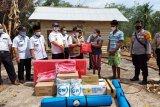 Bupati Mesuji bantu korban kebakaran di Kecamatan Way Serdang
