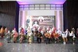 Perajin kain khas daerah Lampung didorong tingkatkan produktivitas