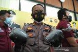 19,7 kg bahan petasan di Kudus disita polisi