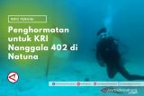 Mengenang Nanggala 402 dari Komunitas Bahari Natuna