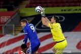 Leicester City ditahan imbang 10 pemain Southampton