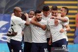 Guardiola sanjung tinggi penampilan Aguero saat kalahkan Palace 2-0