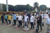 Serikat pekerja tuntut pencabutan UU Ciptaker  pada peringatan May Day