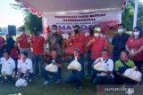 BPJAMSOSTEK bersama Pemprov Sulut berbagi kasih di Hari Buruh