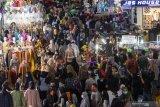 Polda Metro Jaya minta masyarakat cari lokasi alternatif belanja lebaran