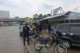 Gegana Lampung pantau situasi kamtibmas dengan patroli kemitraan