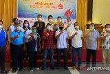 Jemaat gereja di Kota Makassar bantu penuhi stok darah PMI