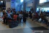 Arus mudik di Bandara SMB II Palembang, Minggu alami peningkatan