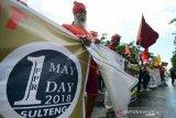Pemprov Sulteng diminta perjuangkan buruh agar dapat perlindungan kerja
