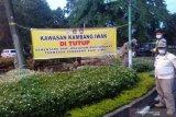 Satpol PP tutup sejumlah area publik di Kota Palembang