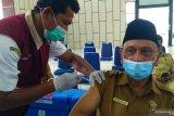Sudah sebanyak 3.136 orang warga Solok Selatan disuntik vaksin COVID-19