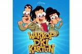 Ini pembuktian trio komedian legendaris lewat serial kartun Warkop DKI