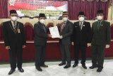 DPRD Bartim serahkan laporan Pansus LKPj Kepala Daerah tahun 2020