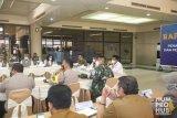 Pertemuan antara Gubernur H Ansar Ahmad dan Kepala BNPB