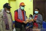 Kemensos salurkan santunan korban bencana  di  Malaka