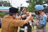 Polres Agam bangun 10 pos pengamanan Idul Fitri 1442 H dan turunkan 200 personel