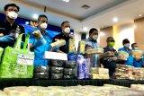 BNN ungkap tiga sindikat narkoba internasional, sita 581,31 kg sabu-sabu
