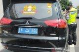 Kendaraan dengan pelat nomor 'Kekaisaran Sunda' ditahan polisi