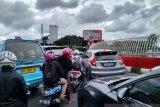 Warga di batas Kota Makassar mudik lebih awal