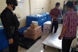 Gegana Polda Lampung kawal pendistribusian vaksin COVID-19 ke Kota Metro dan Lampung Timur