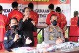 Polda Kalteng ringkus sembilan pengedar sabu di berbagai daerah