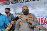 Warga mengungsi saat kontak tembak TNI-Polri dengan KKB  di Ilaga