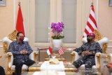 Menko Airlangga apresiasi dedikasi TNI dalam penanganan pandemi COVID-19