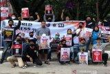 Forum Jurnalis Kendari menuntut penyelesaian kasus kekerasan wartawan