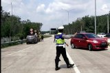 Larangan mudik, Polda Lampung putar balik ratusan kendaraan
