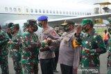 Panglima TNI dan Kapolri berangkat ke Timika, pimpin rapat tertutup dengan semua jajaran TNI dan Polri